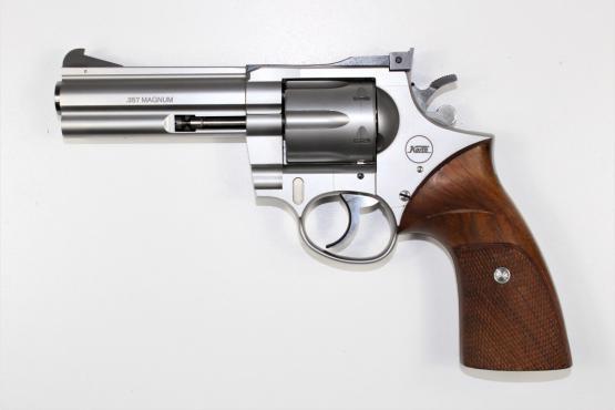 """Korth Revolver 4"""" Stainless"""